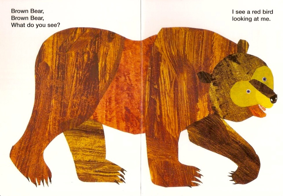 Dads Read Upside Down: Brown Bear, Brown Bear, What Do You See Review