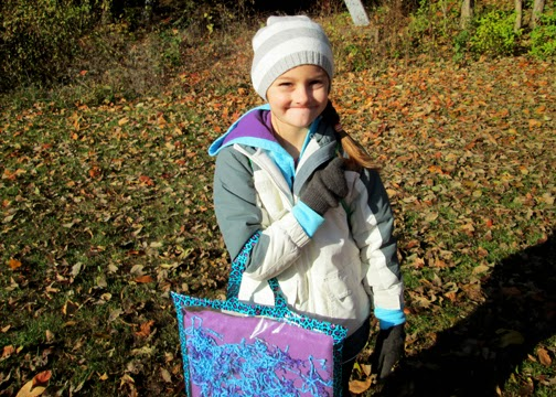 Tessa attended a fall camporee back in September. It was her first official Girl Scout event and first non-family campout.