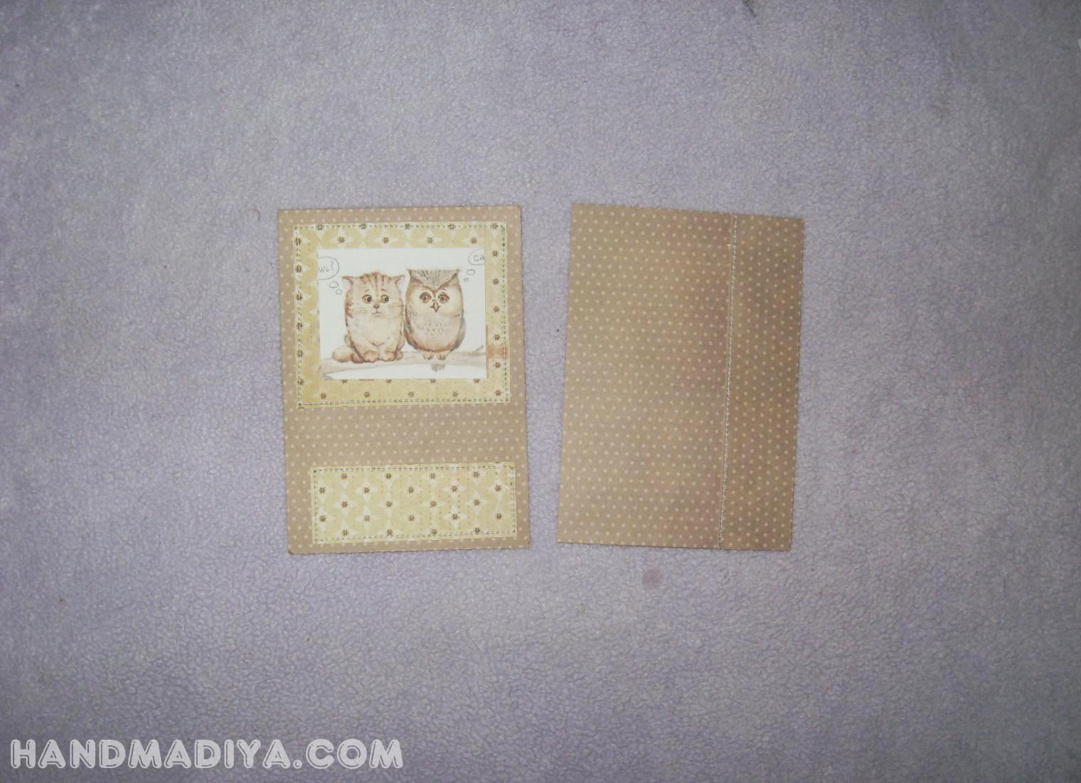 Обложка для паспорта, мастер класс. Passport cover