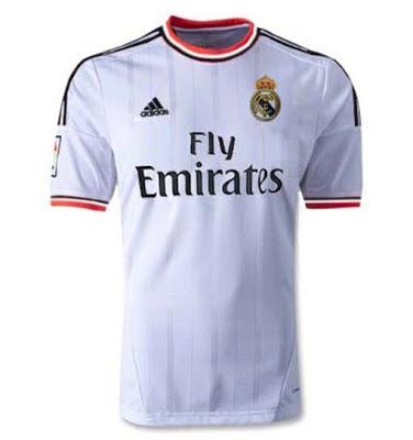 Foto Jersey Kostum Real Madrid Kandang 2013 2014 Foto Kostum Jersey Real Madrid Terbaru 2013 2014