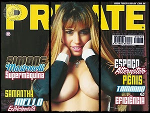 Simone Mastronelli Na Revista Private De Julho 2011