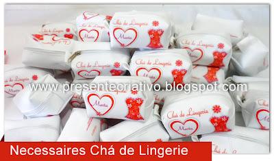 Lembranças Chá de Lingerie