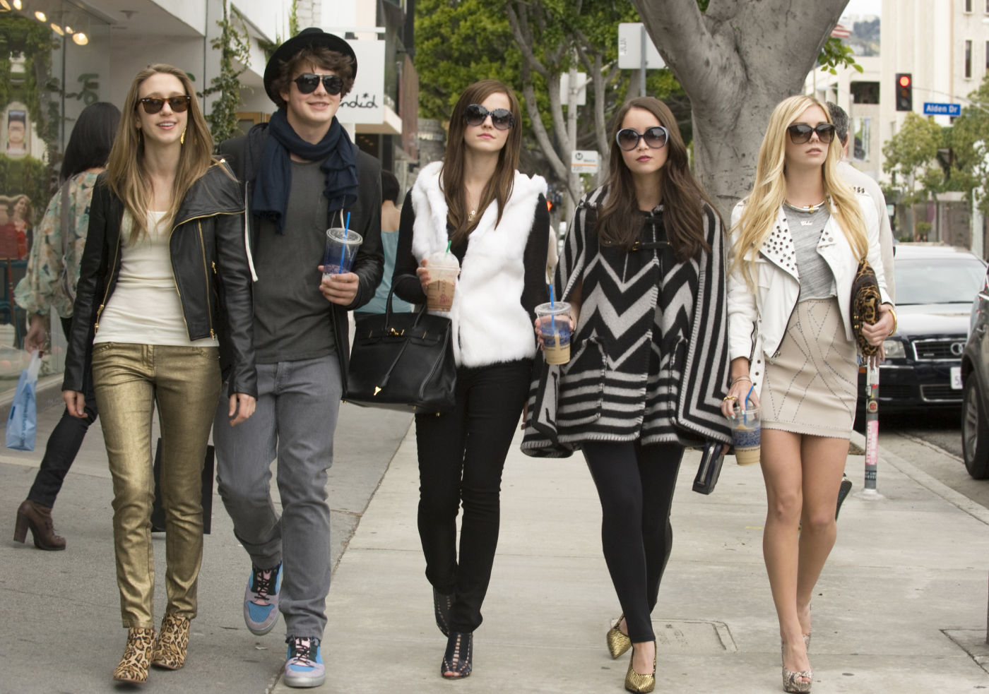 the bling ring fashion style