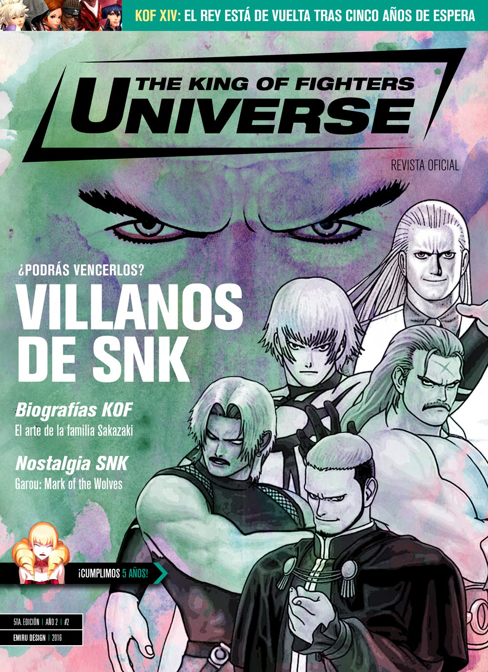 Revista KOF Universe