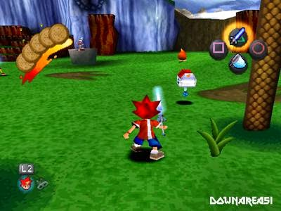 ape escape ps1 gambar