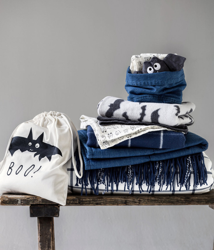 H&M home collection for small kids batman theme