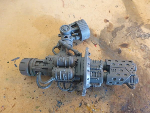 WIP Imperial Knight - thermal cannon