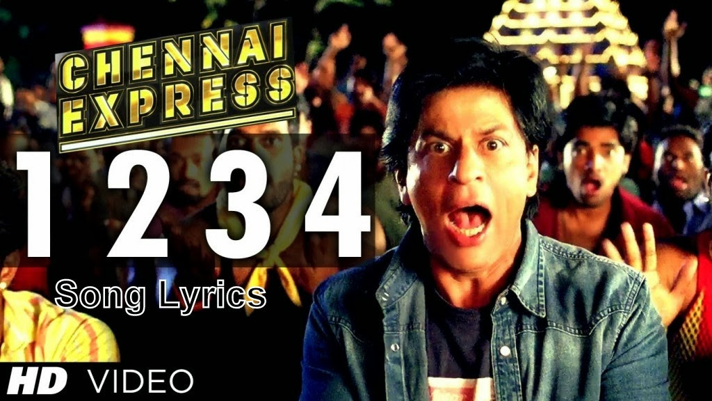 1234 get on the dance floor song lyrics chennai express for 1234 get on the floor