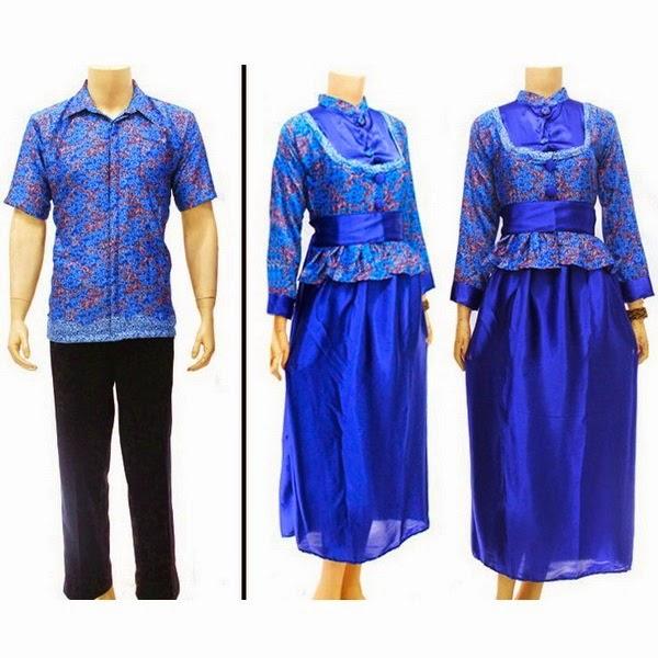 Baju pasangan muslim KEMEJA BERFURING SEMISUTRA motif asmat