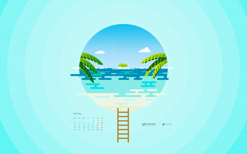 january 2016 desktop Designed by Igor Izhik