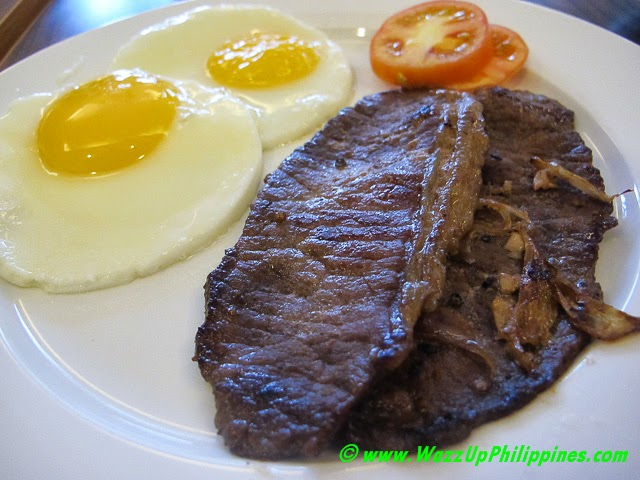 Beef Tapa Plate – P270