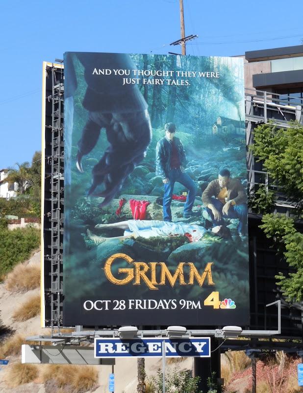 Grimm billboard