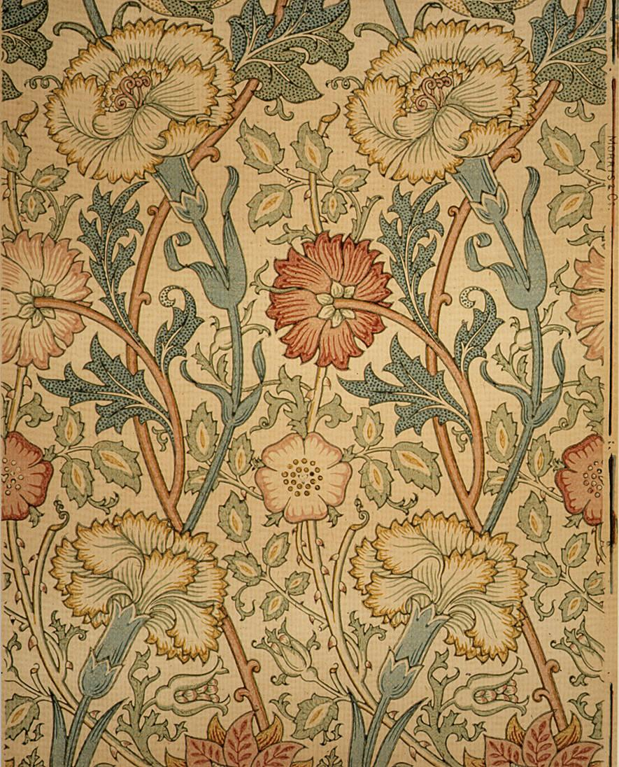 ART u0026 ARTISTS: William Morris wallpaper u0026 textiles