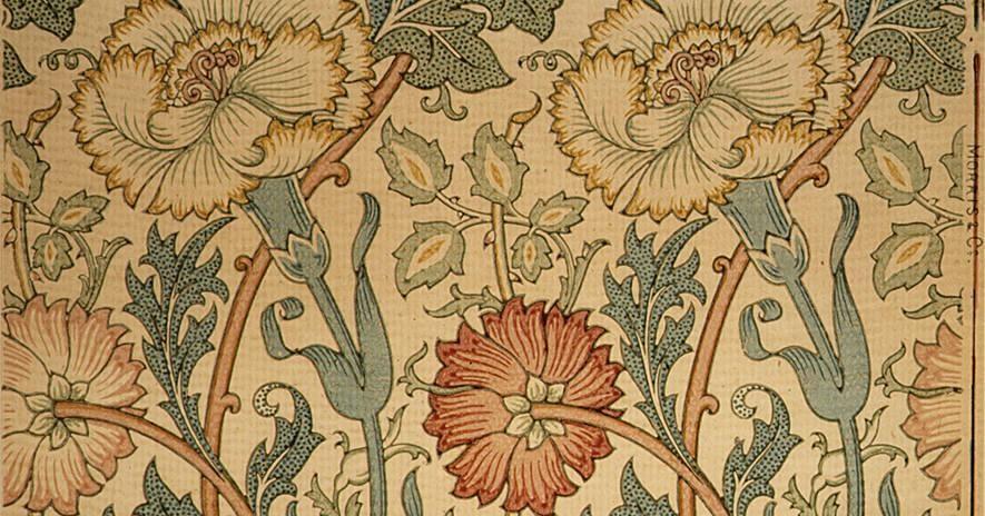 William Morris Pink And Rose Wallpaper