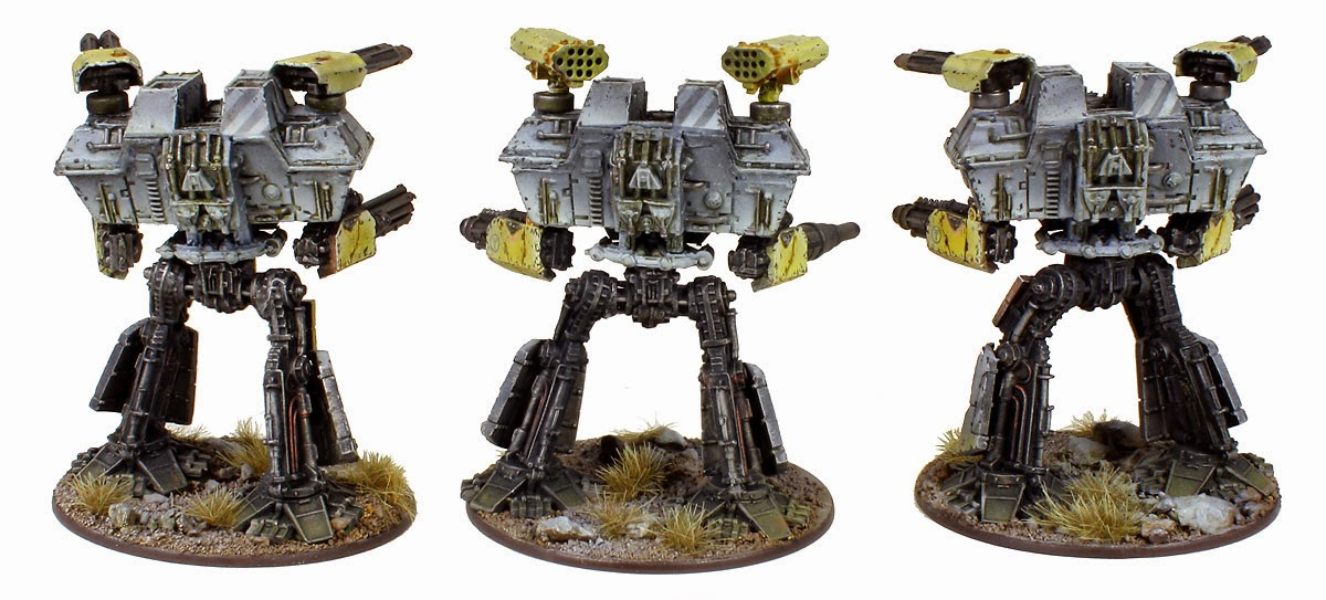 Epic Scale Legio Gryphonicus Warlord Titans Back
