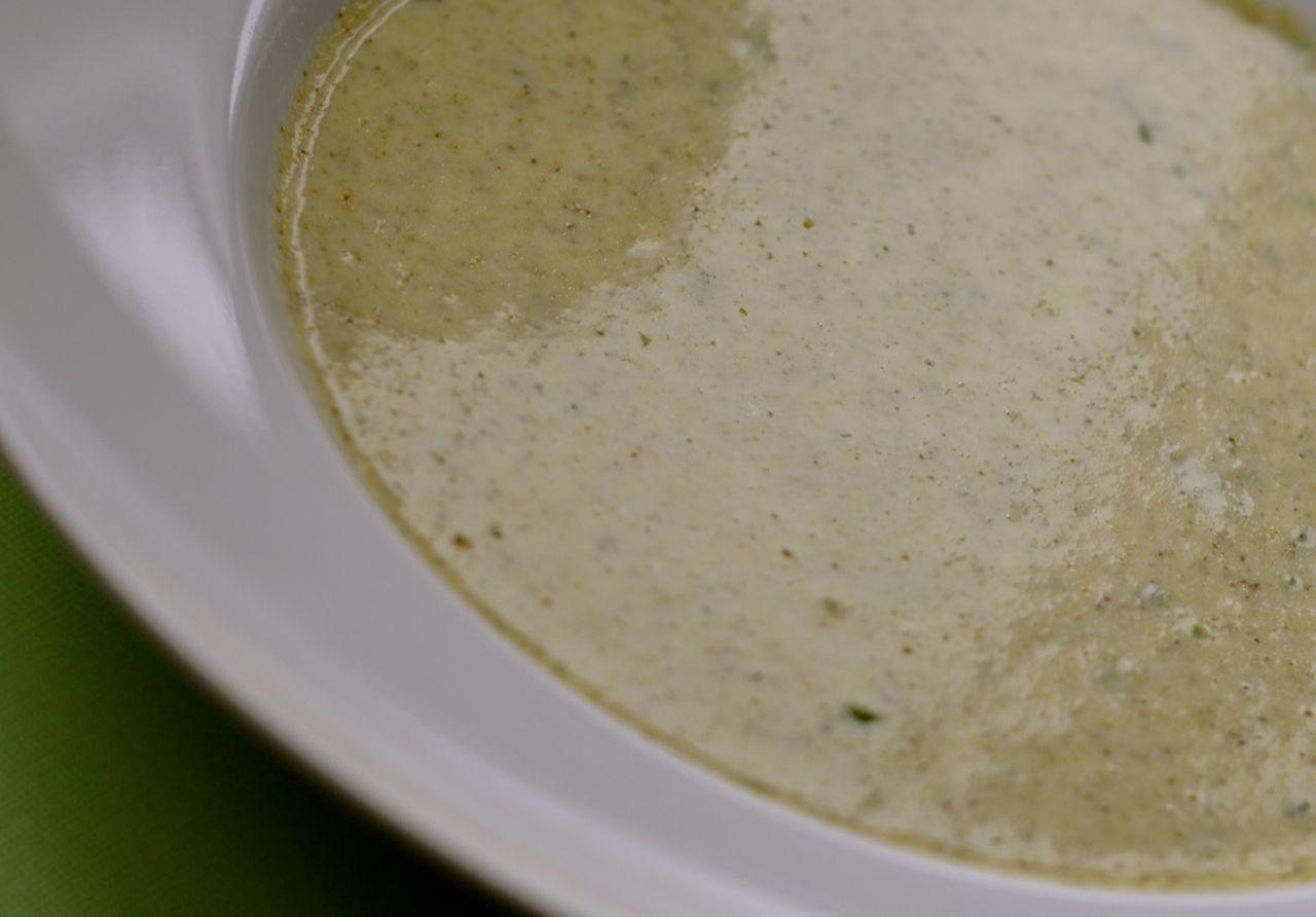 ost och broccolisoppa