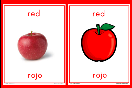 how to say different colors in spanish