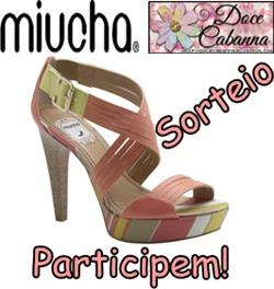 149 SORTEIO DOCE CABANNA+ MIUCHA