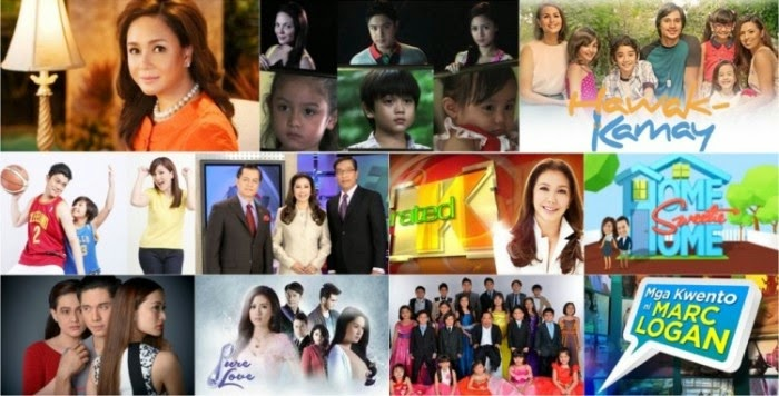 Top ABS-CBN programs in August