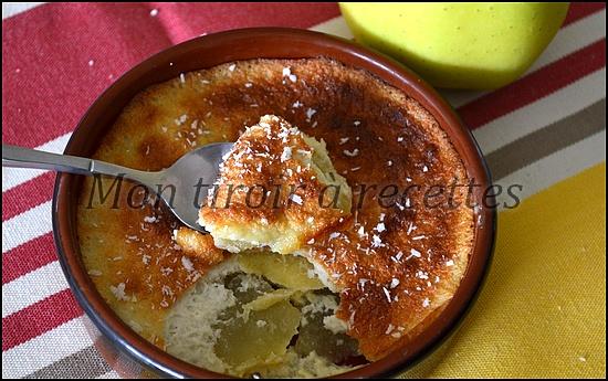 flans aux pommes sans lait sans gluten