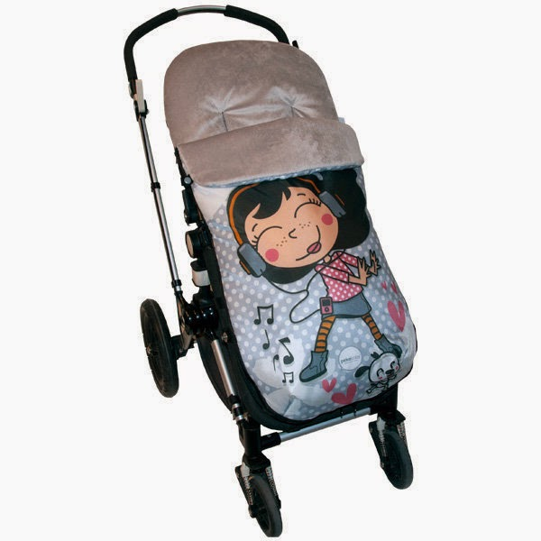 Fundas colchonetas y sacos para sillas de paseo complementos textiles de invierno para el - Sacos silla bebe invierno ...