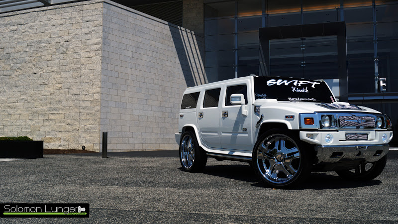 Solomon Lunger Photography Hummer H2 On 28 Tis With Tiarra Grill