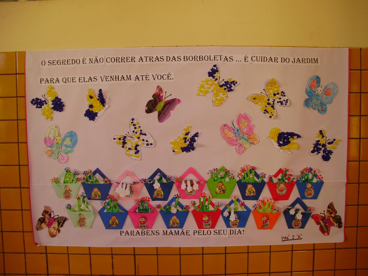 Escola municipal tancredo neves toledo pr murais da for Mural de natal 4 ano