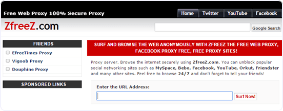 free-proxy-website-zfreez