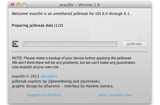 evasi0n jailbreak ios 6.1.2