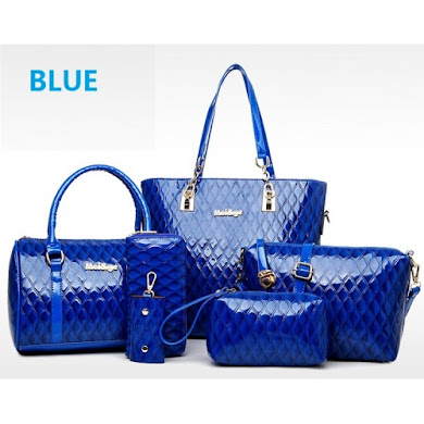 MULTI FUNCTION BAG (6 IN 1 SET) - BLUE