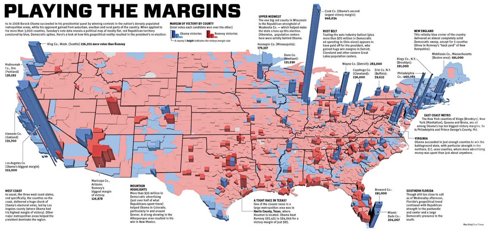 What This Map Tells Us About America And The Election The Madison Usa Map