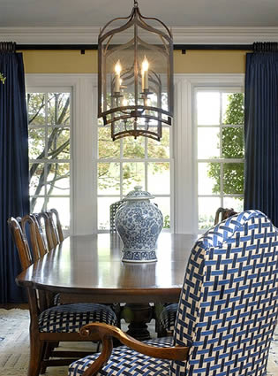 talented tobi fairley knows the power of a ginger jar in the dining room - Ginger Jars