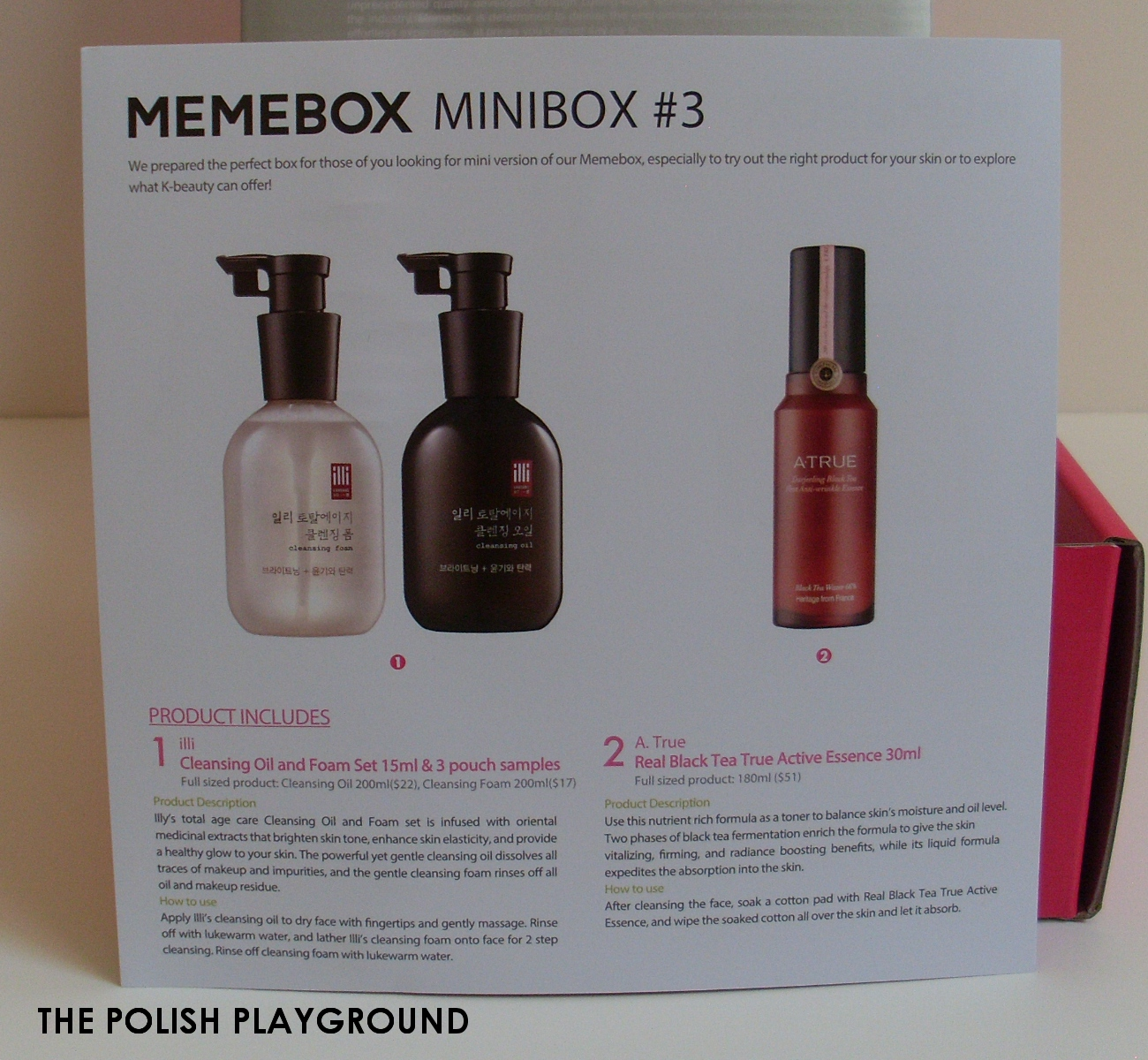 Memebox Minibox #3 Unboxing