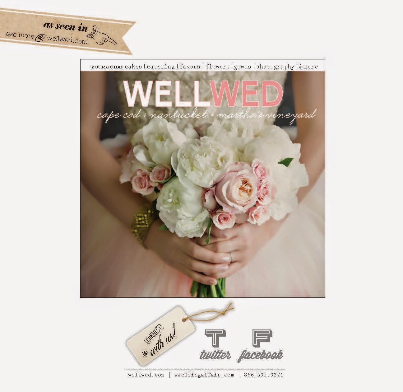 WellWed New York - WellWed CapeCod, Nantucket, Martha's Vineyard - Tartan & Tulle - Splendid Stems Floral Designs