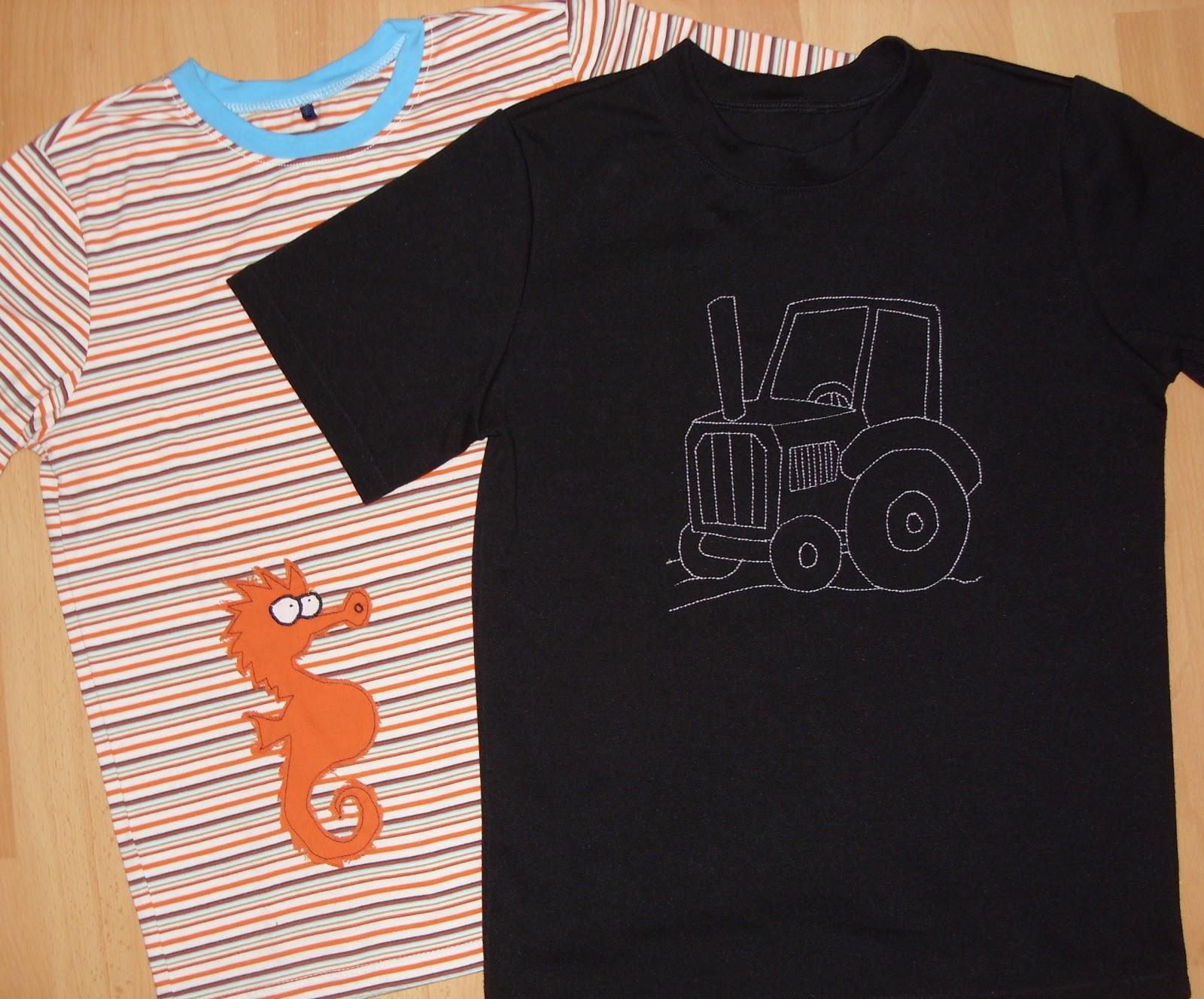 Nachbarzwergs Stoffgarten: T-Shirts + Malvorlagen