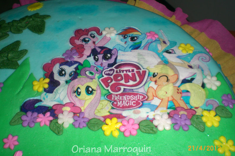 Modelos De Tortas De My Little Pony