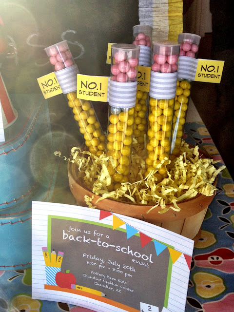 Party Frosting: Back to School Party: Pencils!