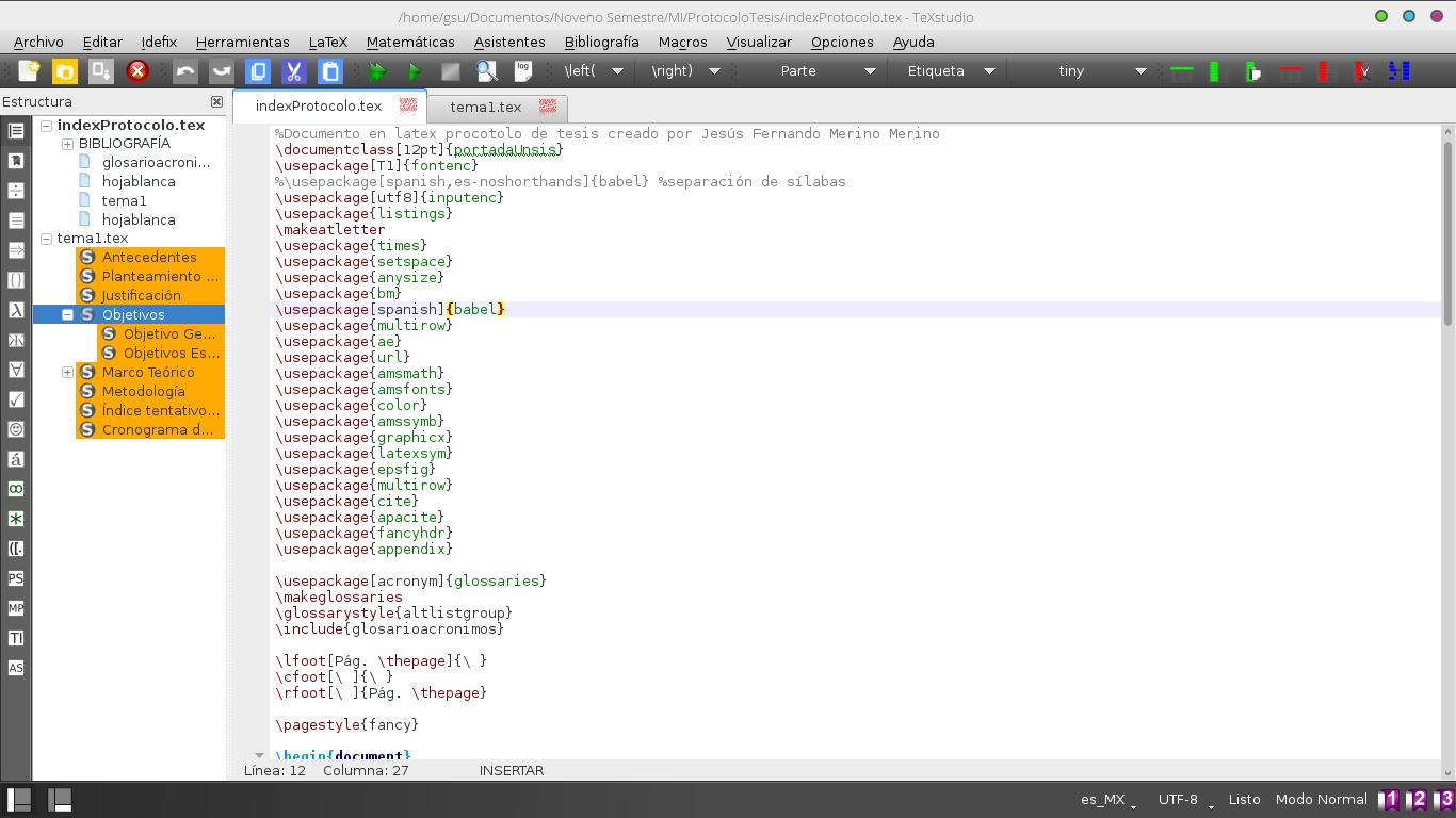 El mejor editor para código Latex