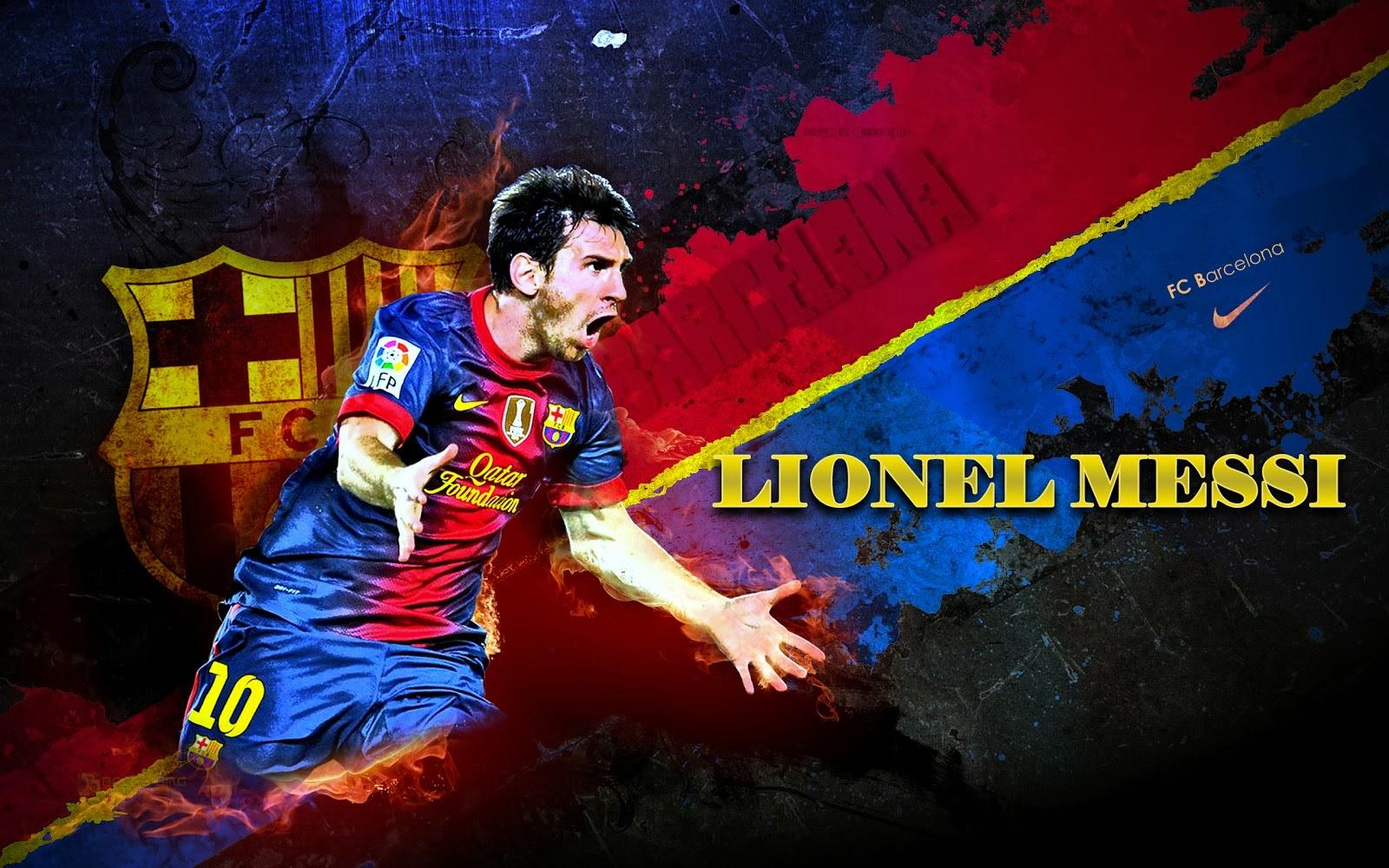 Lionel Messi Barcelona New Hd Wallpaper 2013 2014