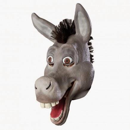 Máscara Asno de Shrek