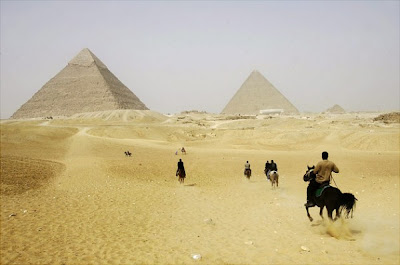 Ancient Pyramids in Giza