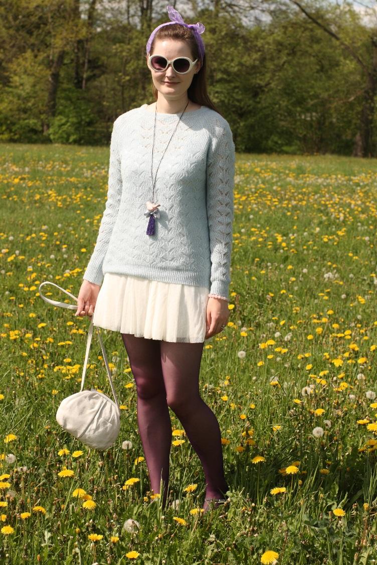 quaintrelle, georgiana, guaint, personal style, blogger, fashion, trend 2015, dandelions, vintage, Pimkie, New Yorker