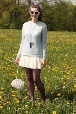 quaintrelle, georgiana, quaint, outfit, ootd, dandelions