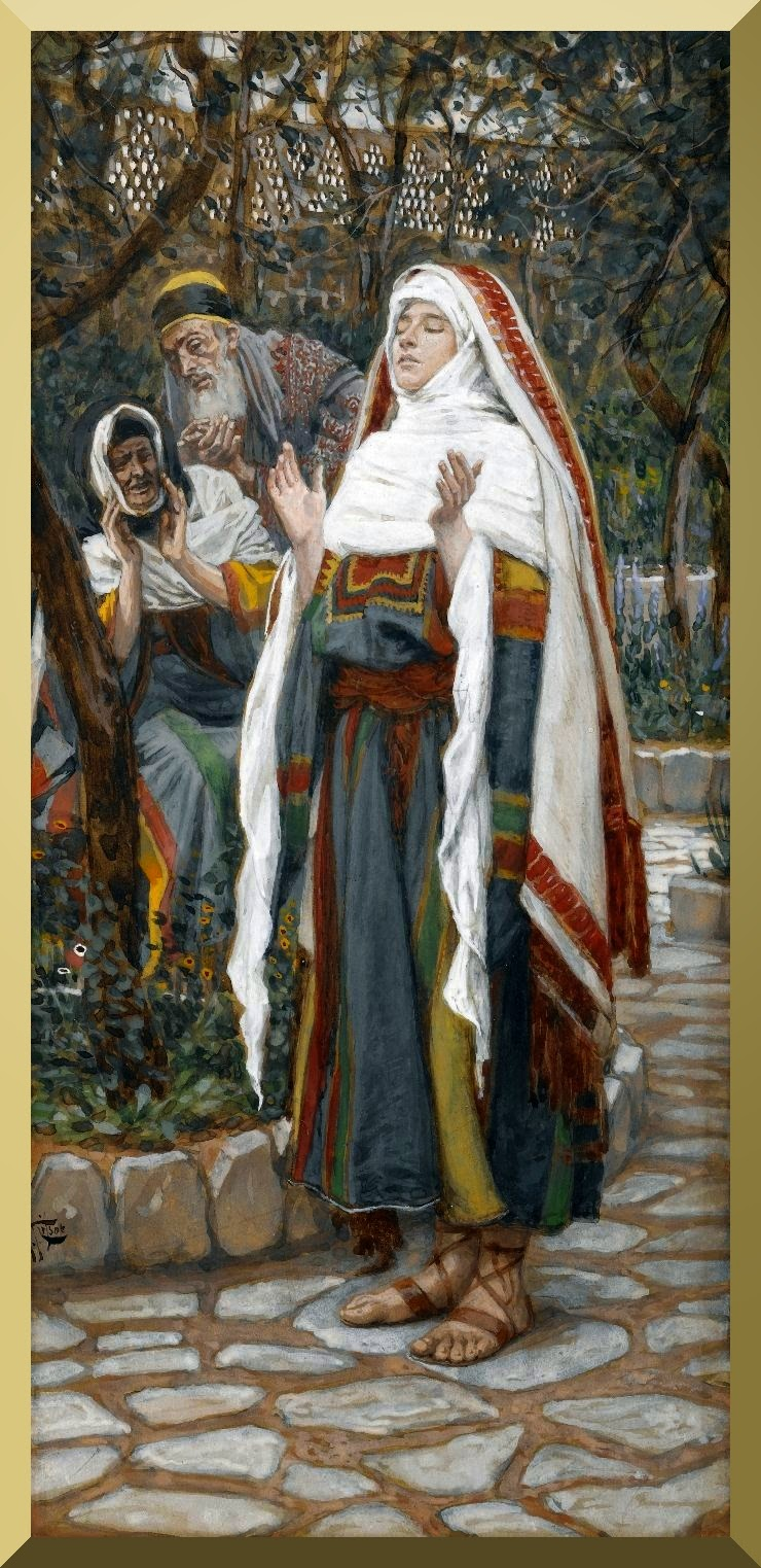 """The Magnificat"" -- by James Tissot"