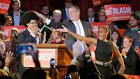 De Blasio the Italian-american Mayor-elect of NYC