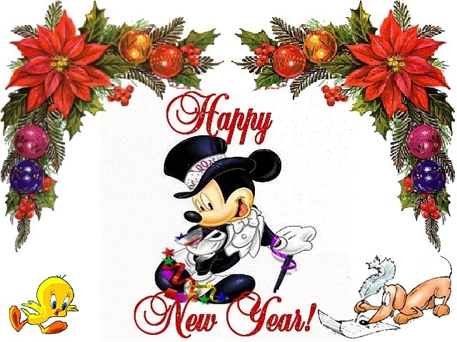 1 Mickey Mouse New Year HD Wallpapers | Backgrounds - Wallpaper Abyss