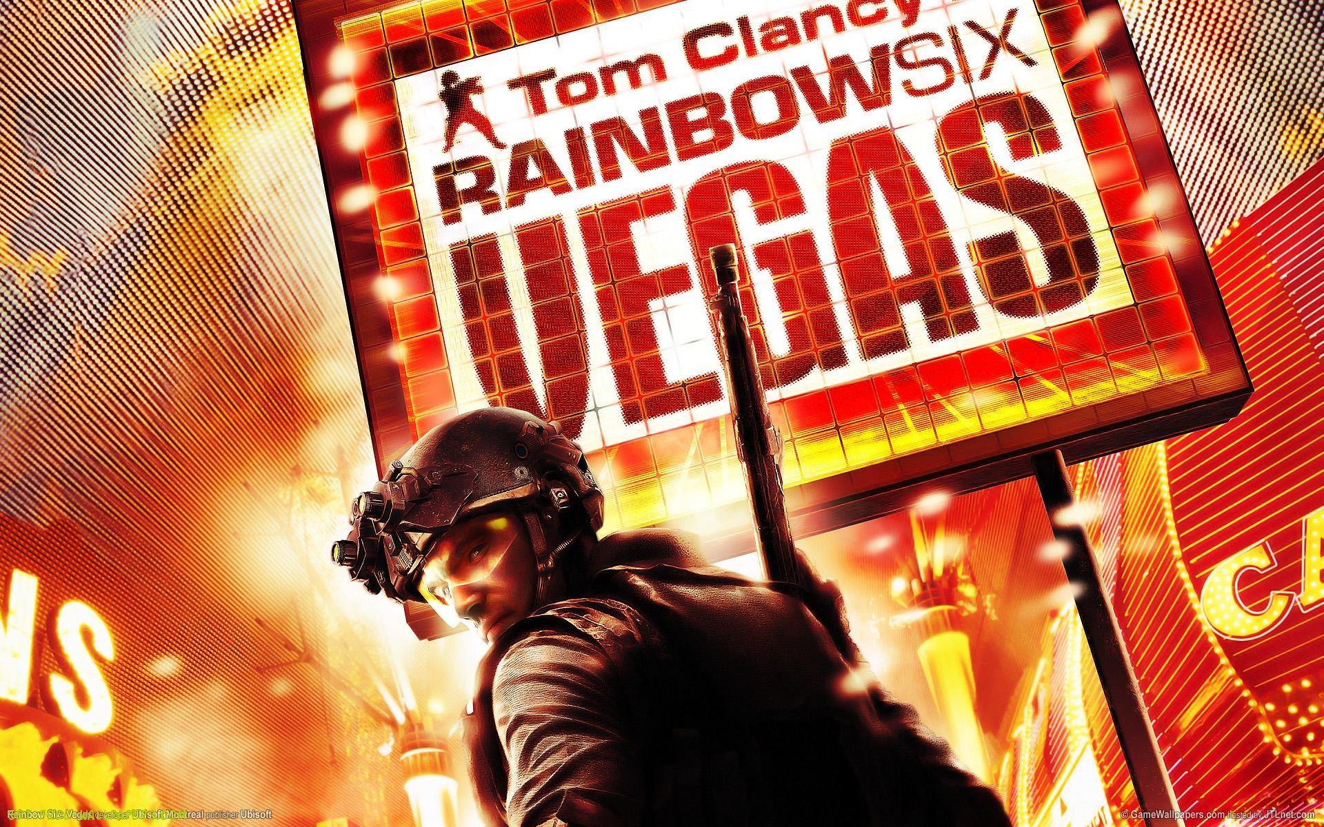 Rainbow Six Vegas HD desktop wallpaper Fullscreen