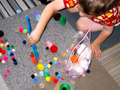 10 Ways to Play with Pom Poms