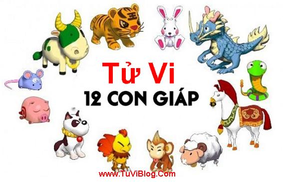 Tu Vi 2016 cho 12 Con Giap