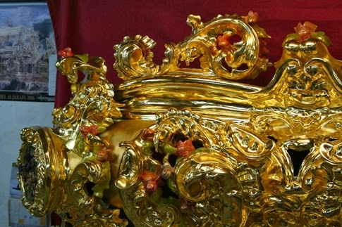 Canasto de San Roque resturado Semana Santa Sevilla 2014